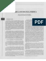 Sobre La Sociología Jurídica
