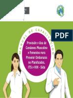 MINSA UNFPA Provision Uso Condones Masculino y Femenino