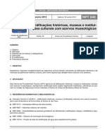 NPT 040-11-Edificacoes Historicas Museus e Intituicoes Culturais Com Acervos Museologicos
