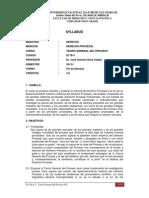 2013-I - D71811 - (08-FS) Teoria Geneal Del Proceso - Dr. Silva V