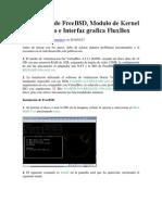 Instalación de FreeBSD