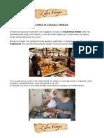 Corso di Cucina a Venezia