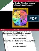 ete 335 behavioral sciences lesson plan