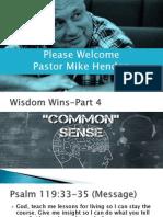 Wisdom Winspart5