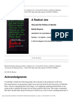 Boyarin d. a Radical Jew