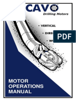 Cavo Motor Operations Manual