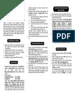Leaflet SPMB Swadana UNS 2009
