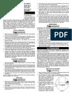 Instrucciones de Boma Little Giant Modelo 5-MSP