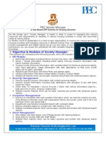 Parwan Society Manager Brochure