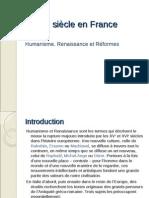 (16th Century France)  Le 16e siècle en France