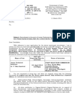 JTA Call Letter for Web Site