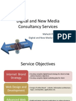Digital and New Media Services