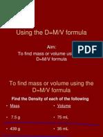 Finding Density PowerPoint