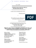 Leadership Conference Civil Rights et al Amicus Brief