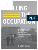 Fuelling the Occupation