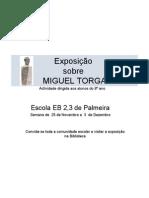 Exposição cartaz M Torga 2009-10