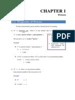 Chapter 1 M2 Additional Math
