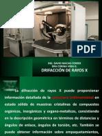 Difraccion de Rx 2014 Quimica
