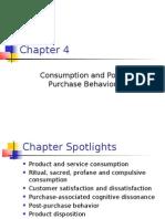Consumption and PostPurchase Behavior