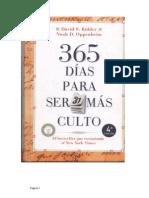 365 di¦üas para ser ma¦üs culto..