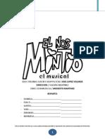 El Nos Mintio El Musical (Mentiras) Libreto