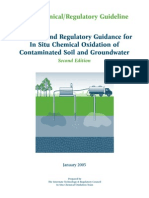 Guidance for in Situ Chemical Oxidation of Contaminated Soil and Groundwater