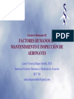 Factores Humanos en Mantto
