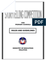 STORYTELLING COMPETITION FOR PRIMARY SCHOOLS