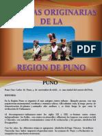 Lenguas Aymara y Quechua Diapositivas