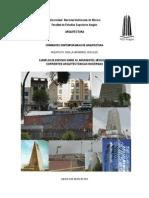Arquitectura Moderna (S. XX) Av. Insurgentes