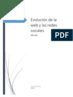 Evolución de La Web y Las Redes Sociales