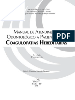 Manual Odontologico Coagulopatias Hereditarias