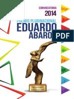 Convocatoria Eduardo Avaroa 2014