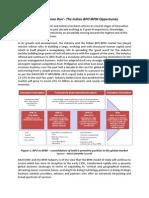 The Indian BPO-BPM Sector