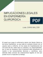 Implicaciones Legales en Enfermería Quirúrgica