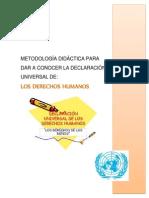 Metodologia Para La Ensenanza de Los Ddhh.carol