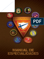 novo manual de especialidades de desbravadores