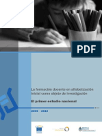 La Formacion Docente en Alfabetizacion Inicial Como Objeto de Investigacion Zamero 3