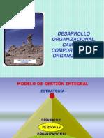 Cambio y Desarrollo Organizacional