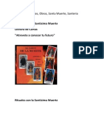 Hechizos,Trabajos, Obras, Santa Muerte, Santeria Cubana.