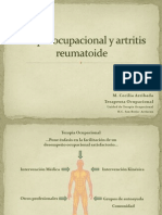 Terapia Ocupacional y Artritis Reumatoide