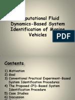 Computational Fluid Dynamics-Based System Identification of Marine Vehicles