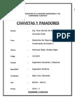 Chaveta y Remaches