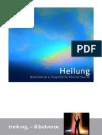 """Heilung. – Bibelverse."" | Booklet"