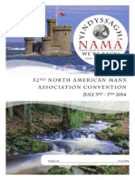 North American Manx Association Souvenir Program