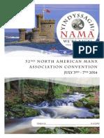 North American Manx Association Souvenir Program
