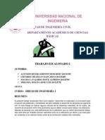 Informe Del Trabajo Escalonado 2