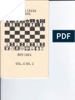 Hoosier Chess Journal Vol. 6, No. 3 May 1984