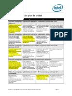 matriz valoracion plan de unidad meduca