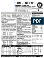 6.20.14 Game Notes at MIS